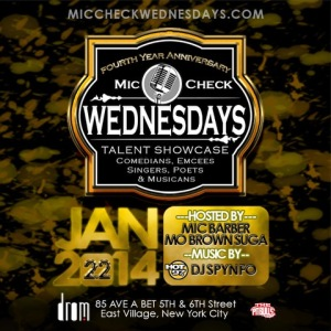 Mic Check Wed 1.22.14
