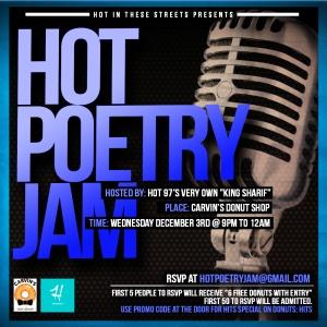 Hot Poetry Jam
