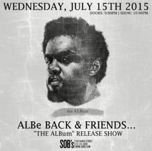 Albe Back Album Release