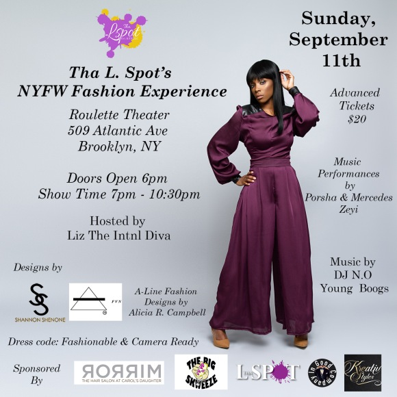 TLS Fashion Experience Flyer